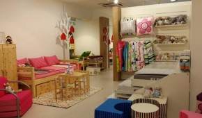 Furniture which grows with your child and a variety of soft furnishings in child friendly designs and colours.