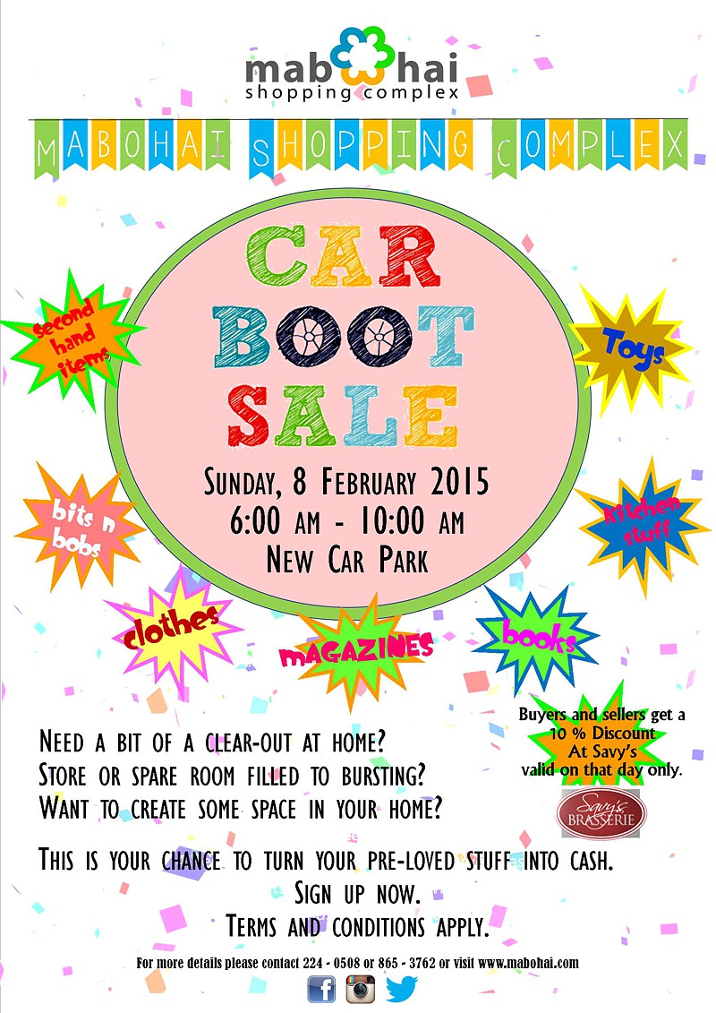 Car Boot Sale Poster A3 Portrait Final1