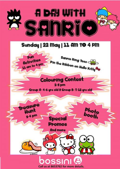Bossini Sanrio Poster Final