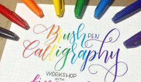 caligraphy workshop
