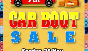 Sixth & Seventh Car Boot Sale for 2019
