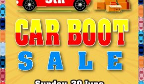Ninth Car Boot Sale for 2019