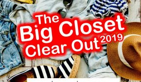 The Big Closet Clear Out 2019