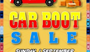 Twelveth Car Boot Sale for 2019