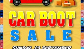 Thirteenth Car Boot Sale for 2019