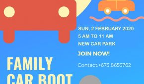 Second Family Car Boot Sale for 2020