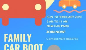 Third Family Car Boot Sale for 2020