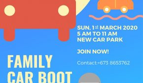 Fourth Family Car Boot Sale for 2020