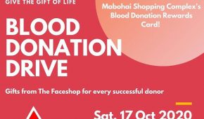 Blood Donation Drive - Oct 2020
