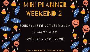 Mini Planner Weekend 2