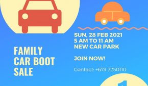 Family Car Boot Sale 1 2021