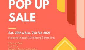 Pop Up Sale - Feb 2021