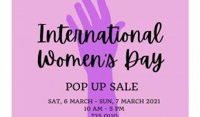 International Women's Day Pop Up Sale