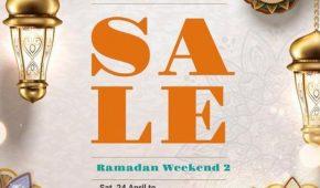 Pop-up Sale Ramadan Weekend 2