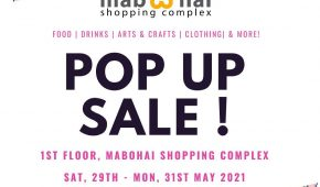 Pop Up Sale May 2021