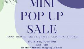 Mini Pop Up Sale - June 2021