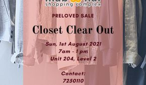 Closet Clear Out - Aug 2021